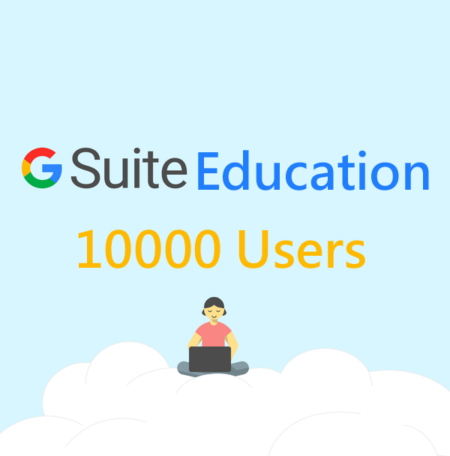 10000 user gsuite education legacy account
