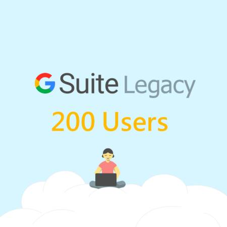 200 User Google Apps Standard Edition Account